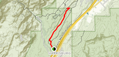 White Reef Harrisburg Trail Map