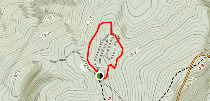 Traces Trail Map