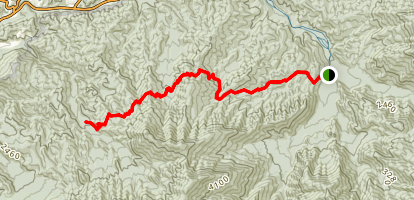 Grapeyard Ridge Trail Map