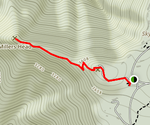 Millers Head Trail Map