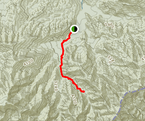 Porters Creek Trail Map