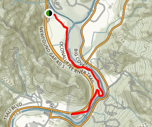 Oconaluftee River Trail Map
