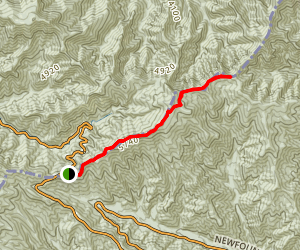Charlies Bunion via Appalachian Trail  Map