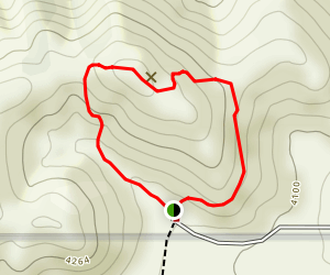 South Park Peak Trail Map