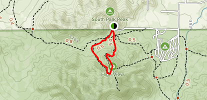 High View Nature Trail Map