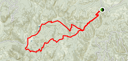 Rock Pond to Werley Ranch Loop Trail Map