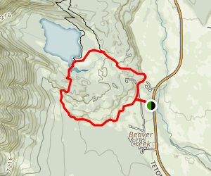 Taggart Lake Trail Map