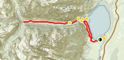 Cascade Canyon Trail Map