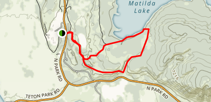 Lookout Rock Trail Map