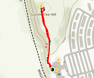 Lunch Tree Hill Trail Map