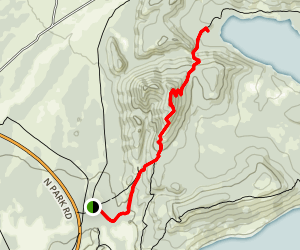 Grand View Point Trail Map