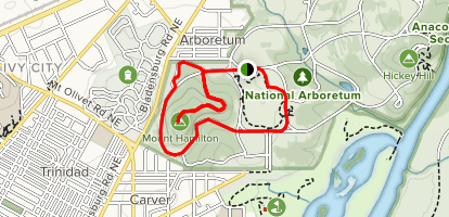 National Arboretum: West Side - District of Columbia | AllTrails on lincoln park map, andrews air force base map, national aquarium map, dc general hospital map, national zoo map, holocaust museum map, detailed oregon road map, supreme court building map, national zoological park map, kingman island map, chicago botanic garden map, usda washington state map, historic anacostia map, national art gallery map, national cathedral map, national museum map, kenilworth aquatic gardens map, national hospital map, metropolitan branch trail map, west potomac park map,