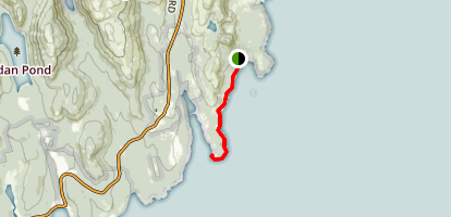 Ocean Path Trail Map