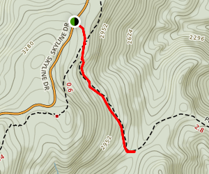 Pocosin Trail Map