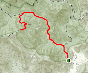 Staunton River Trail to Bear Church Rock Map