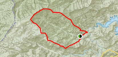 Stratton Bald Loop Trail Map