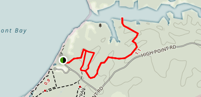 Kane's Creek Trail to Eagle Spur Trail Map