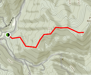 Powell Mountain Trail Map