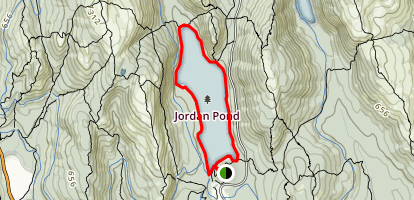 Jordan Pond Full Loop Trail Map