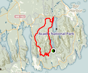 Around The Mountain Loop Trail Map