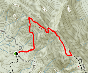 Mount Zion Trail Map