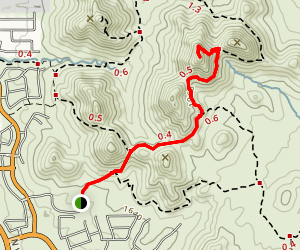 Dixie Summit Trail Map