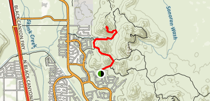 Western Vista Trail Map