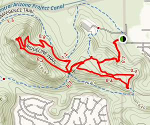 Deem Hills Inner Loop Map
