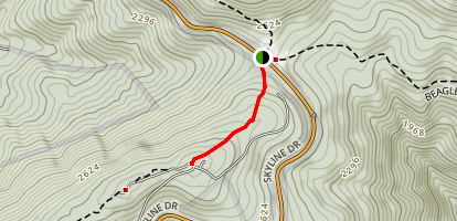 Bear Den Trail Map