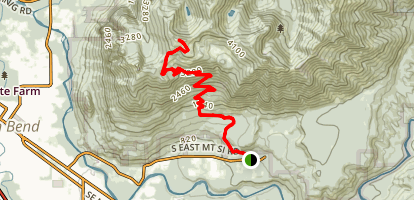Blowdown Mountain Map