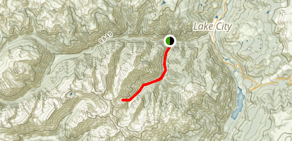 Alpine Gulch Trail Map