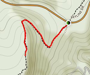 Powell Gap Trail Map