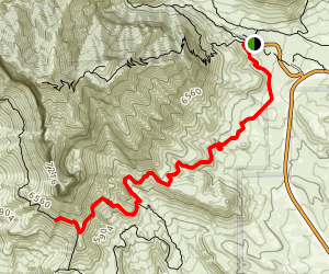 El Capitan Trail Map