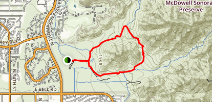 Gateway Loop Trail Map