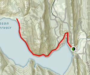 Gibson Reservoir Map