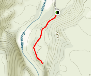 Gates of Lodore Nature Trail Map