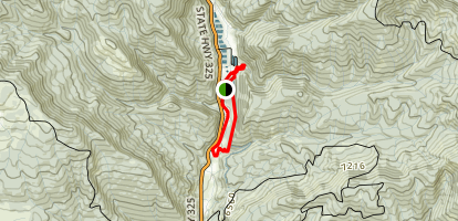 Coyote and Squirrel Loop Trails Map