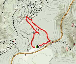 Story of the Forest Trail Map