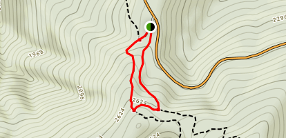 Neighbor Mountain Trail and Appalchian Trail Loop Map