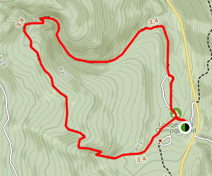 Foreman Hollow Nature Trail Map