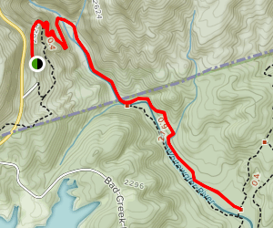 Foothills Trail - Whitewater River Map
