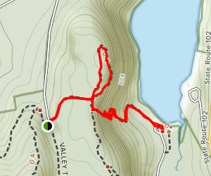 Beech Cliff Loop Trail Map