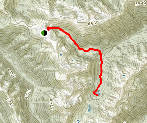 Badger Valley Trail Map