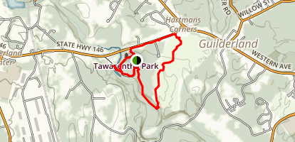 Tawasentha Park Loop Map
