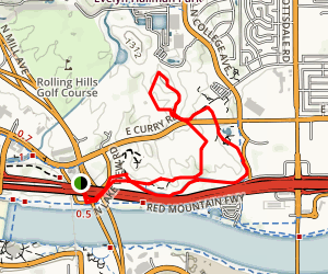 Loma and Canal Trails Map