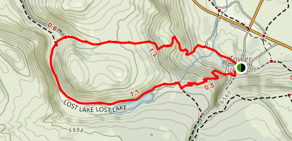 Lost Lake Loop Trail Map