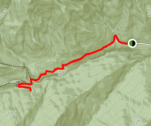 Olympic Hot Springs Trail Map