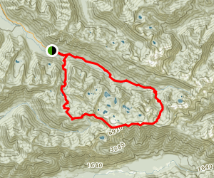 High Divide Trail Map