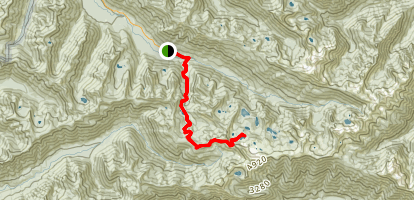 Lunch Lake Trail Map