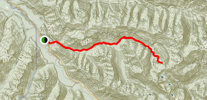 North Fork of the Sol Duc Trail Map
